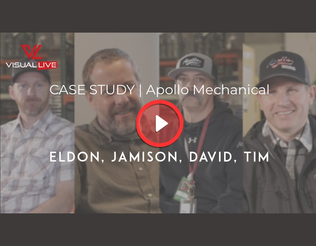 Apollo Mechanical HVAC and VisualLive video thumbnail
