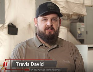 Travis David - UA 290 Piping General Foreman