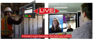 VisualLive livestream with Microsoft Remote Assist