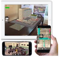 MobiLive Augmented Reality by VisualLive and SPAR 3D