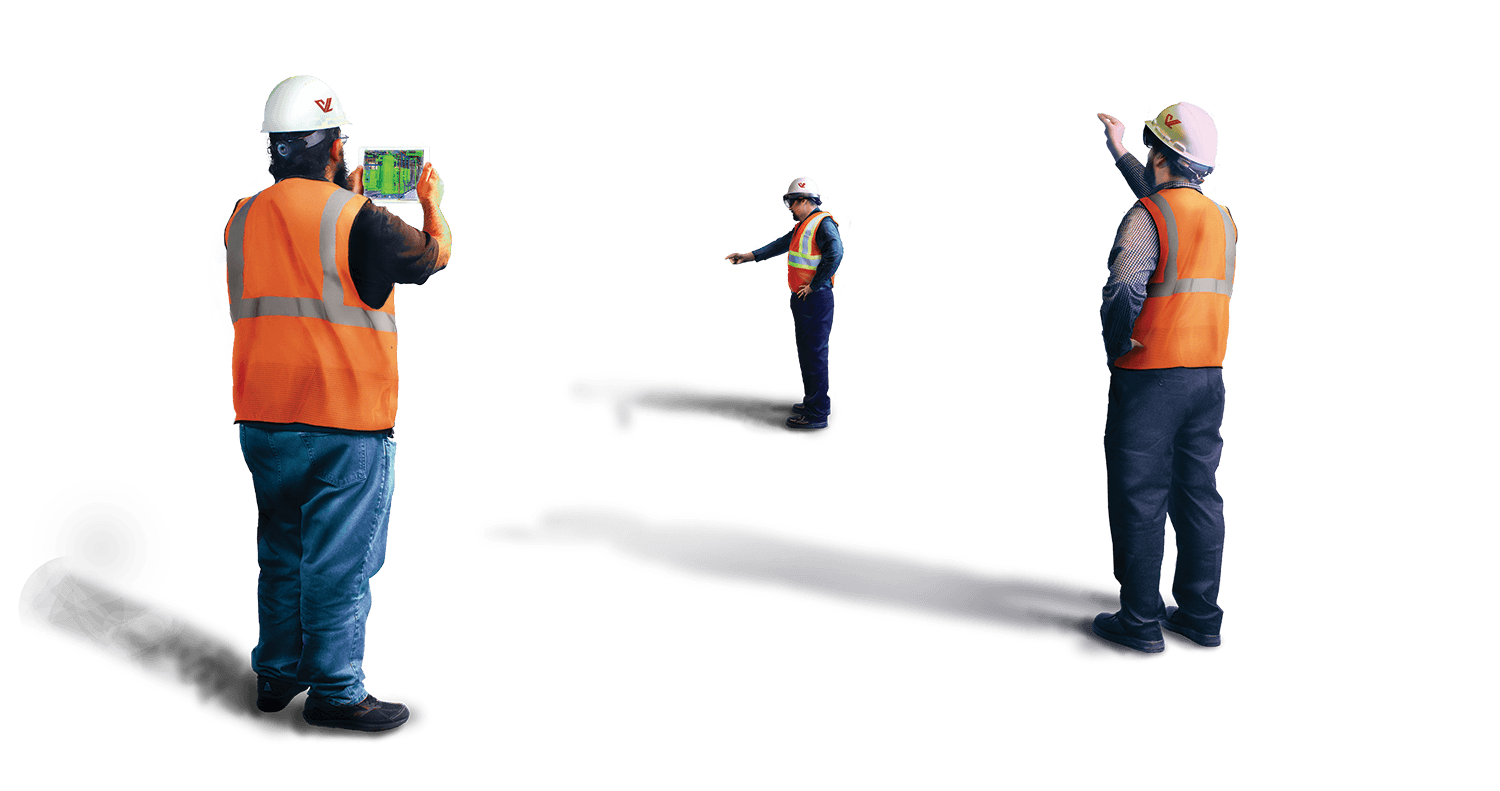 workers in Augmented Reality