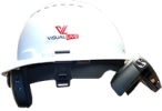 VisualLive hardhat with HoloLens 2